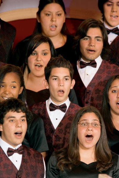 The joy of student performances