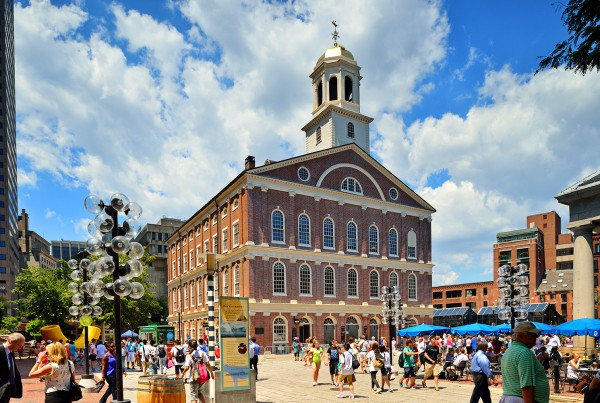 Boston Tours Faneuil Hall