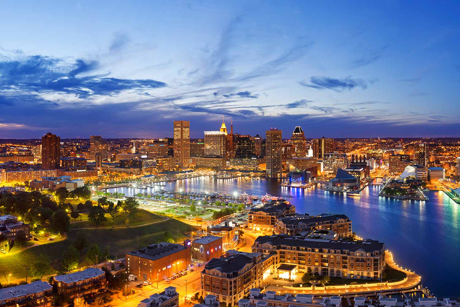 Baltimore Maryland is the deatured destination for student group travel on the Suburban Tours blog.