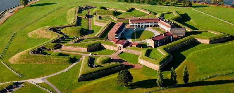 Fort McHenry near Baltimore is the place that inspired Francis Scott Key to pen our National Anthem.