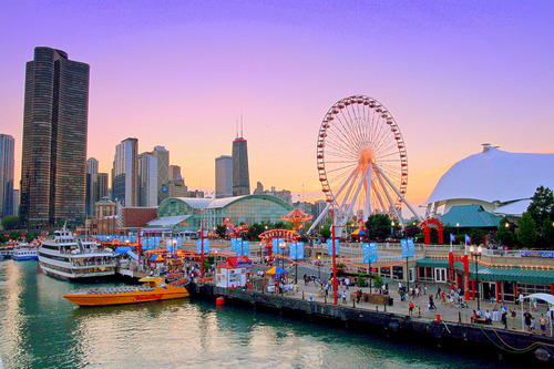 The Navy Pier Chicago has so much to do and Suburban Tours classifies it as a must do.