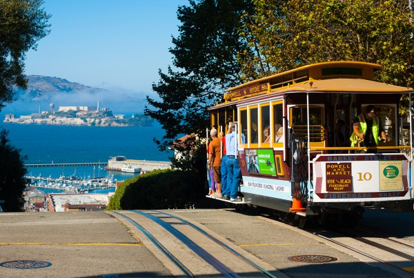 Northern California Tours Street Cars